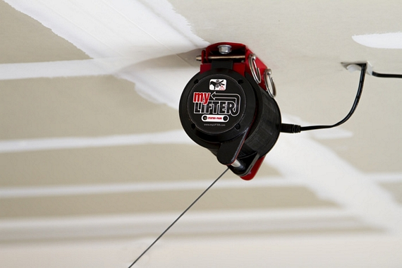 MyLifter Will Install To Your Ceiling And Plug In To A Wall Outlet Like A  Regular Motorized Winch Lift, So Itu0027s Familiar Enough To Anyone Whou0027s Put  Together ...