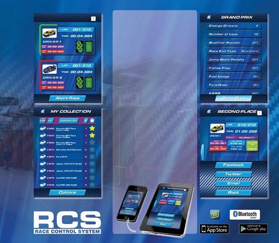 Scalextric Rcs Pro Lets You Control Slot Car Races Like A