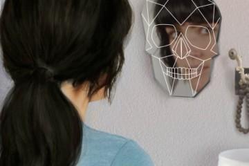 skull-mirror