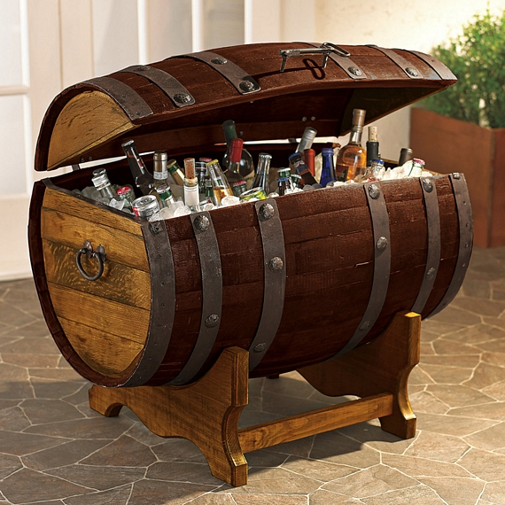 Any Time Youu0027re At A House Party, The Liquor Cabinet Is Always The Hidden  Pirate Treasure Everyoneu0027s Looking To Loot. Now, You Can Make The Liquor  Stash ...