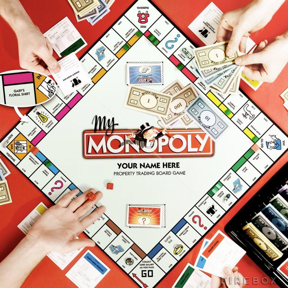Spielplan Monopoly