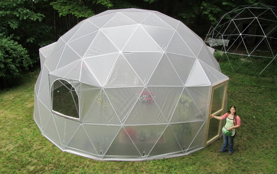 Pre Fab Room Sized Geodesic Domes