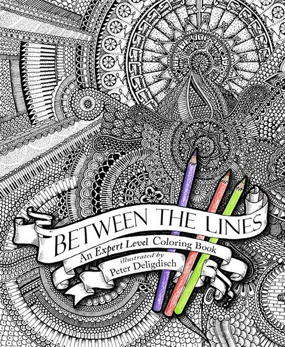 Between The Lines Coloring Book