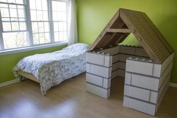 Buils Kit Lets Kids Make Structurally Sound Cardboard Forts