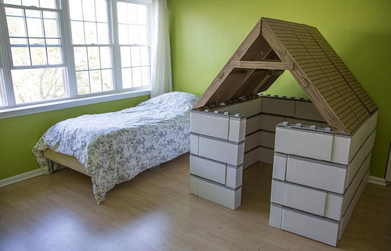 Buildies Kit Lets Kids Make Structurally-Sound Cardboard Forts