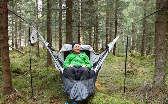 Amok Draumr Hammock Gives Campers A Flat Stable Bed Like Cot