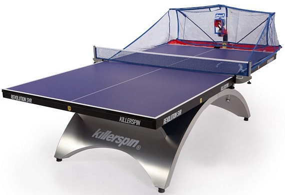 Killerspin Throw Ii Ping Pong Machine
