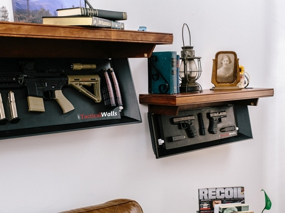 The Couch Bunker Is Awesome At Keeping Your Guns Hidden And Out Of The Way.  But If Youu0027re Not Quite Up To Trading In Your Favorite Couch For One, ...