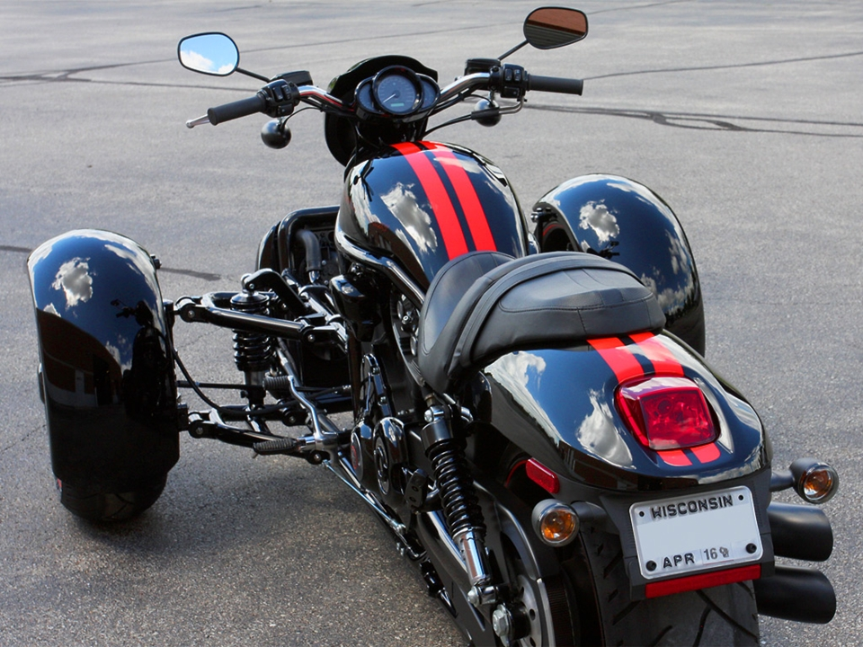 Scorpion Trike Conversion Kit Turns Your V Rod Into A Reverse Muscle Trike