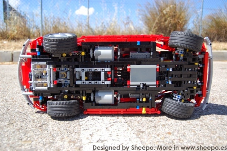 Behold The Amazing Lego Rc Cars In Sheepo S Garage
