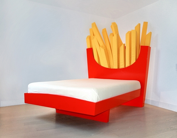cool bed boy know french fries are horrible they pack ridiculous amount of calories yet you need so much to get full all while being desertlevel barren when it supersize fries bed