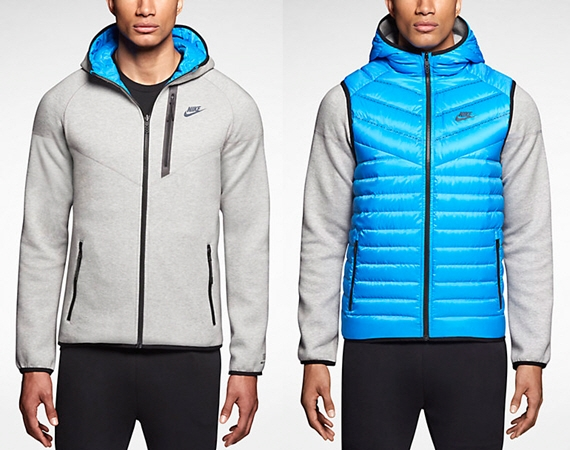 Nike s Reversible Windrunner Hoodie Hides An Insulated Vest 64929bb38e73