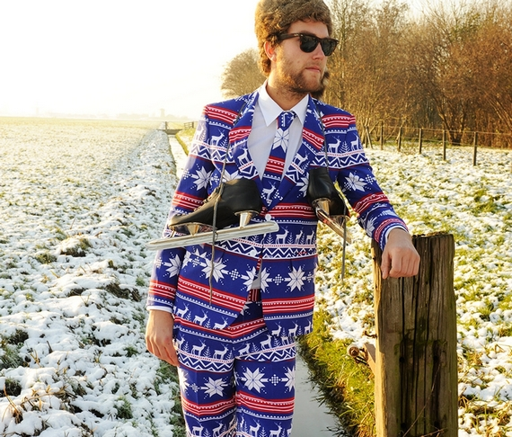 shinesty christmas sweater suits 2 - Christmas Sweater Suit
