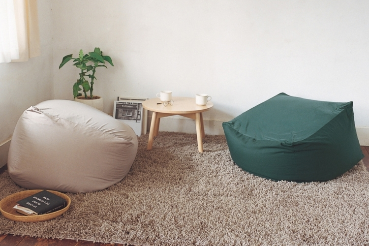 These Muji Body Fit Cushions Offer A Cushier Alternative To Beanbags