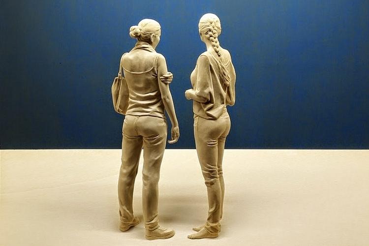 Peter Demetz S Human Figure Sculptures