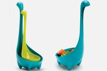 Have Even More Loch Ness Sightings In Your Kitchen With The Mama Nessie Colander Spoon