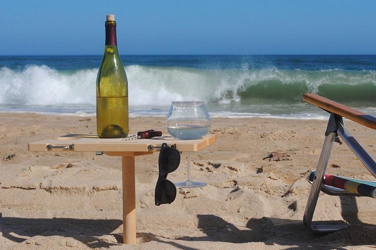Sandstand Portable Beach Table