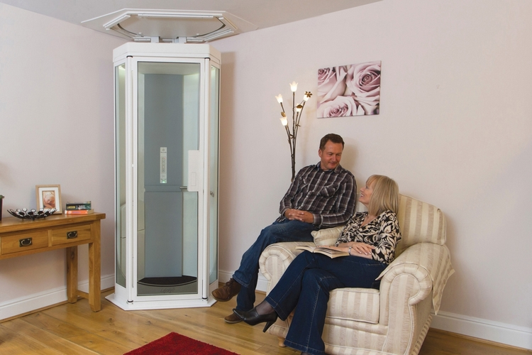 Lifestyle home elevator for Small elevators for homes