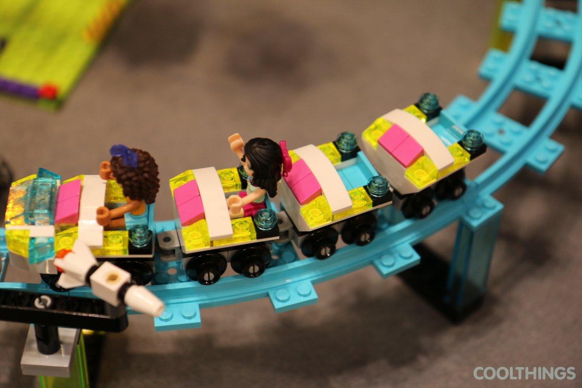 LEGO Friends Set 41130 Amusement Park Roller Coaster ...
