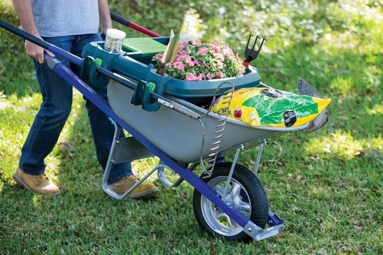 Little Burro Wheelbarrow Organizer 1
