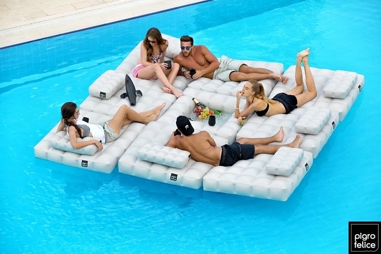 Modulair Inflatable Pool Float 3