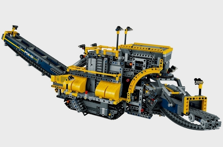 lego technic bucket wheel excavator. Black Bedroom Furniture Sets. Home Design Ideas