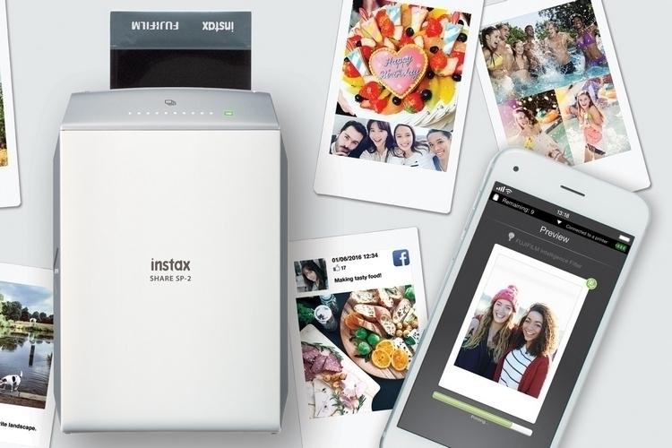 fujifilm instax share sp 2 portable printer. Black Bedroom Furniture Sets. Home Design Ideas