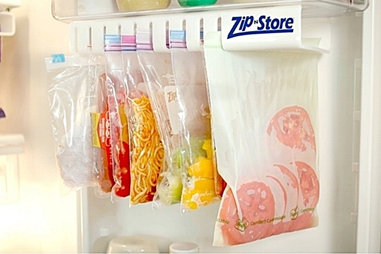 It Can Accommodate Any Type Of Ziplock Bags From Small Snack Size Pouches To Large Gallon Sized Units