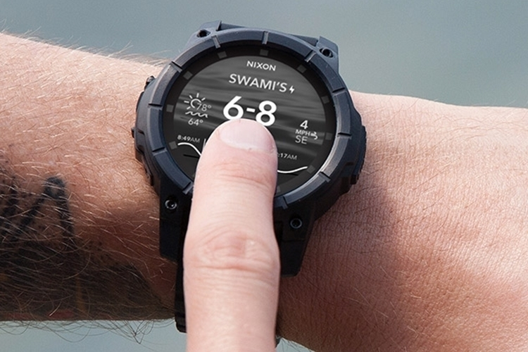 Nixon Mission Is An Android Wear Smar Ch For Action Sports Enthusiasts