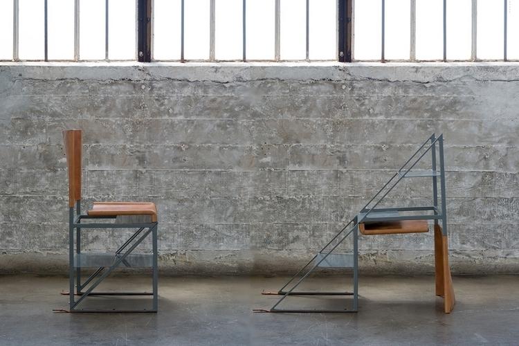 Stephen Kenn Victorinox Stepladder Chair 1