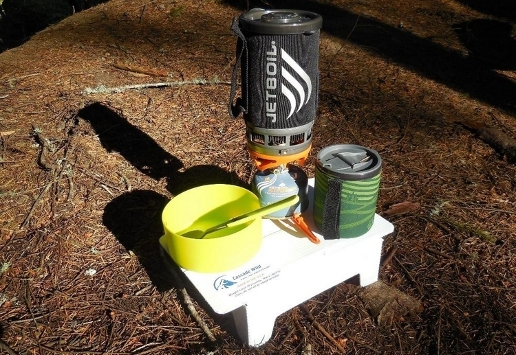 Cascade Wild Ultralight Backpacking Table