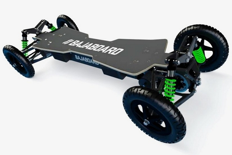 bajaboard g4x off road skateboard. Black Bedroom Furniture Sets. Home Design Ideas