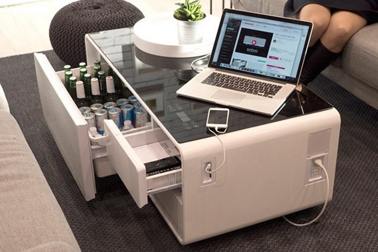 Pleasing Primst Multifunction Refrigerator Coffee Table 4 0 Bluetooth Short Links Chair Design For Home Short Linksinfo