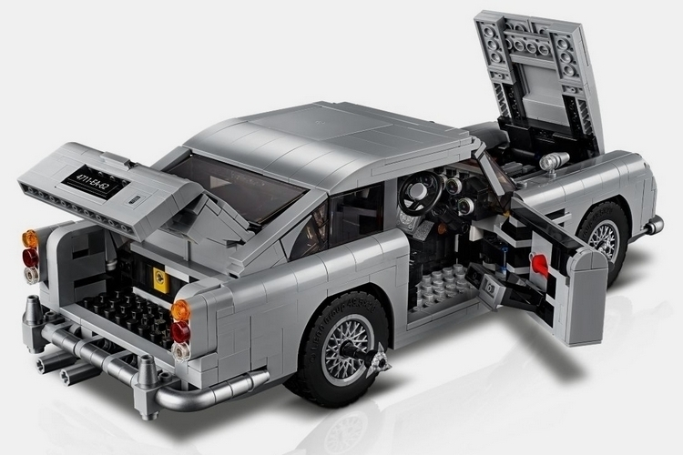 lego creator expert james bond aston martin db5. Black Bedroom Furniture Sets. Home Design Ideas