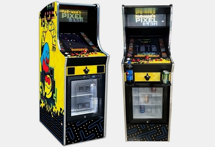 Pac Man Pixel Bash Chill Arcade Cabinet Mini