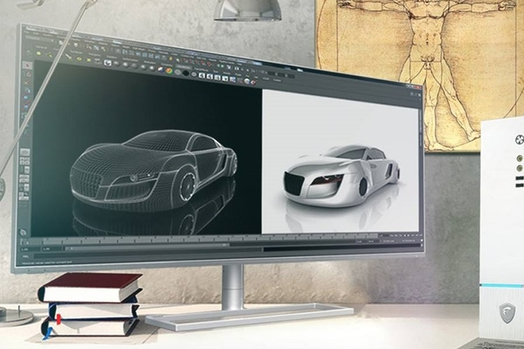 MSI-prestige-PS341WU-monitor